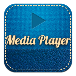 Retro Media Player Icon, PNG ClipArt Image.