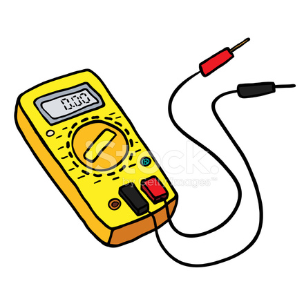 Multimeter stock photos.
