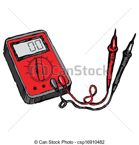 Multimeter Clipart and Stock Illustrations. 290 Multimeter vector.