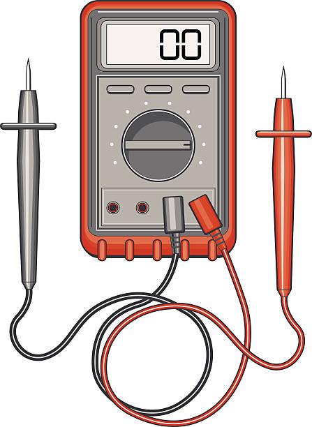 Digital Multimeter Clip Art, Vector Images & Illustrations.