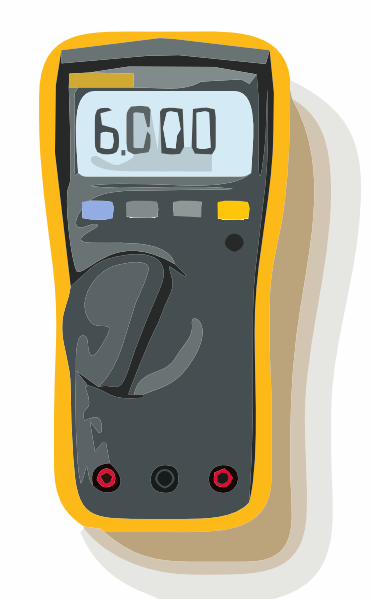Multimeter W Out Lead Clip Art at Clker.com.