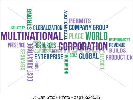 Vectors of Multinational Corporation.