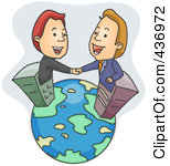 Multinational clipart.