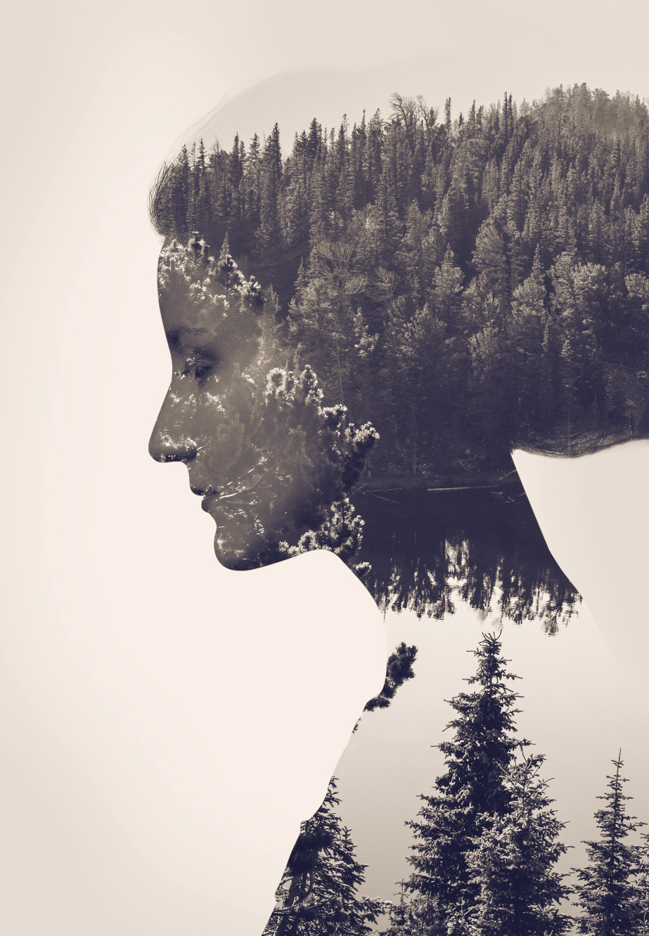 How To Create a Double Exposure Effect in Photoshop.