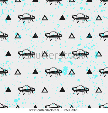 Flying Saucer Stock Images, Royalty.