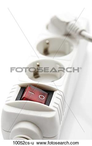Stock Images of Multiple socket close.