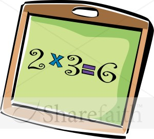 Clipart multiplication.