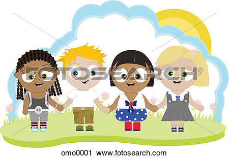 Multi racial group Clip Art and Stock Illustrations. 65 multi.
