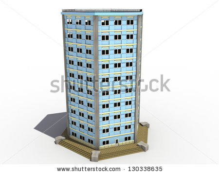 Multi Storey Building Clipart.