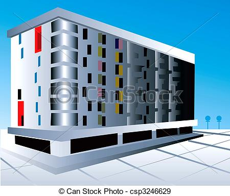 Multi Storey Building Clipart.
