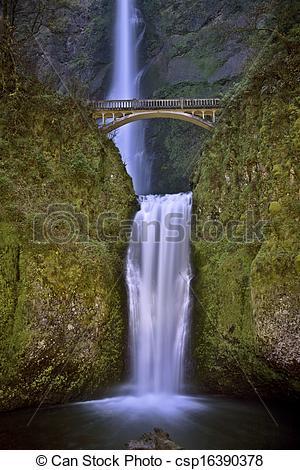 Picture of Multnomah Falls Oregon.