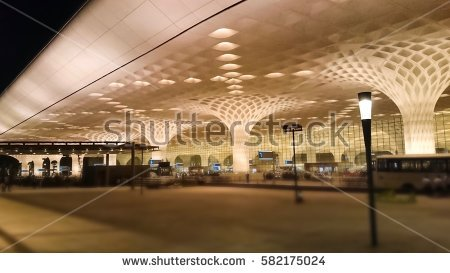 Mumbai Airport Stock Photos, Royalty.