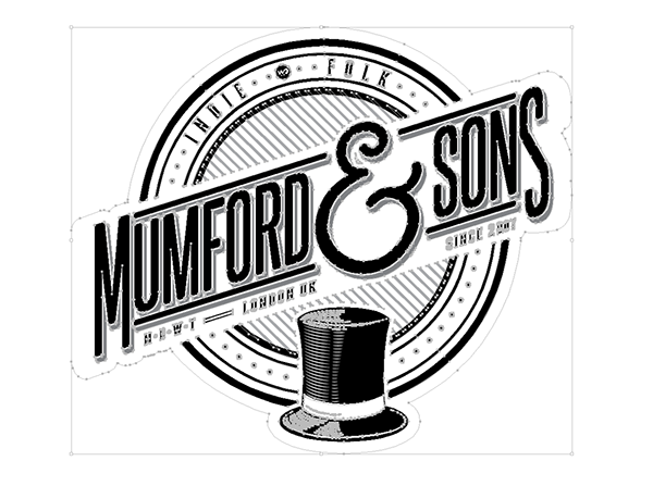Mumford and sons Logos.