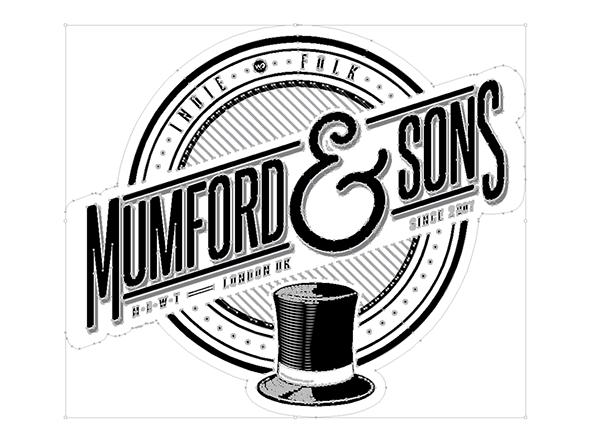Mumford and sons Logos.