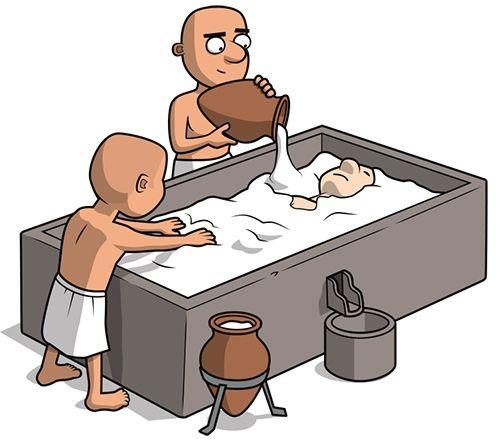 Ancient Egyptian mummification.