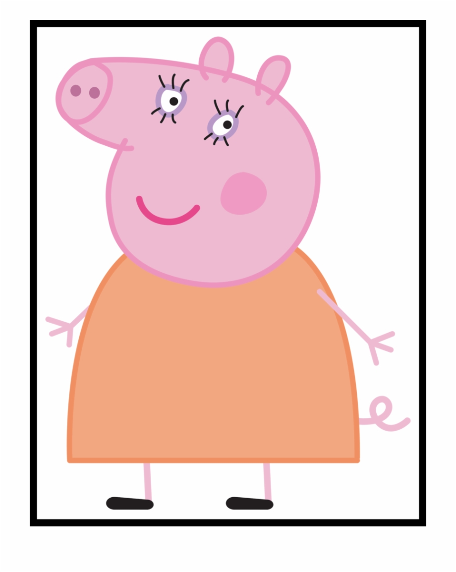 Shocking Peppa Pig Mummy Cartoon Png U Clip.