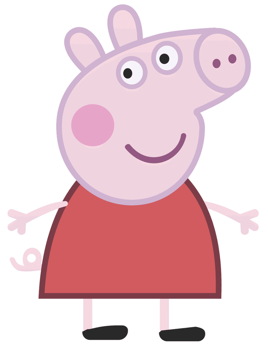 Peppa The Pig Clipart.