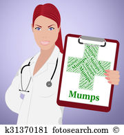 Mump Clipart and Stock Illustrations. 2 mump vector EPS.