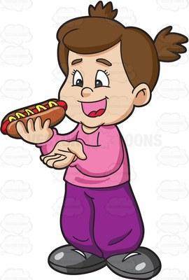 munch Cartoon Clipart.
