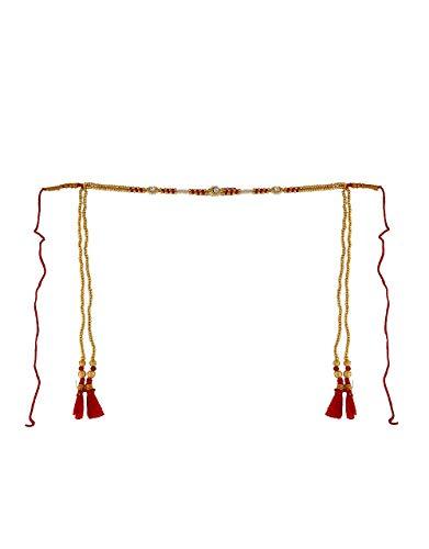 Buy Anuradha Art Jewellery Men\'s and Women\'s Metal Red.
