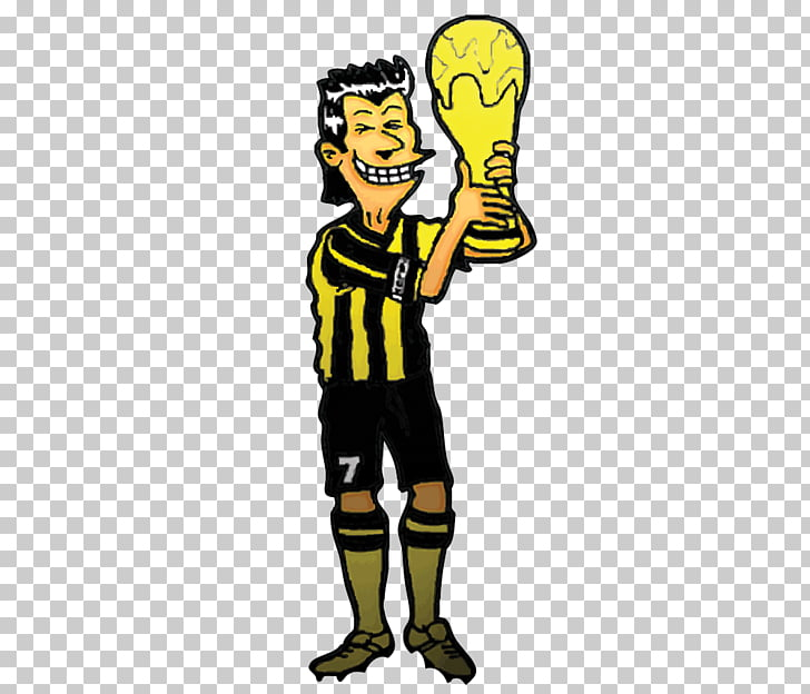 Caricatura de dibujos animados, copa del mundo fifa PNG.