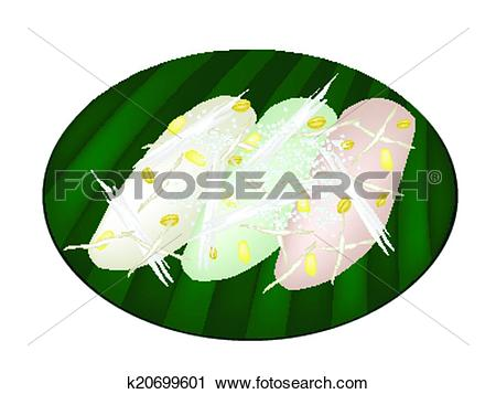 Clipart of Thai Mung Bean Rice.