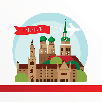 Munich clipart.