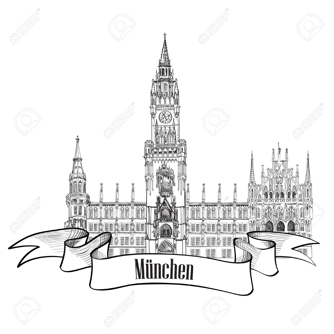 4,300 Munich Cliparts, Stock Vector And Royalty Free Munich.