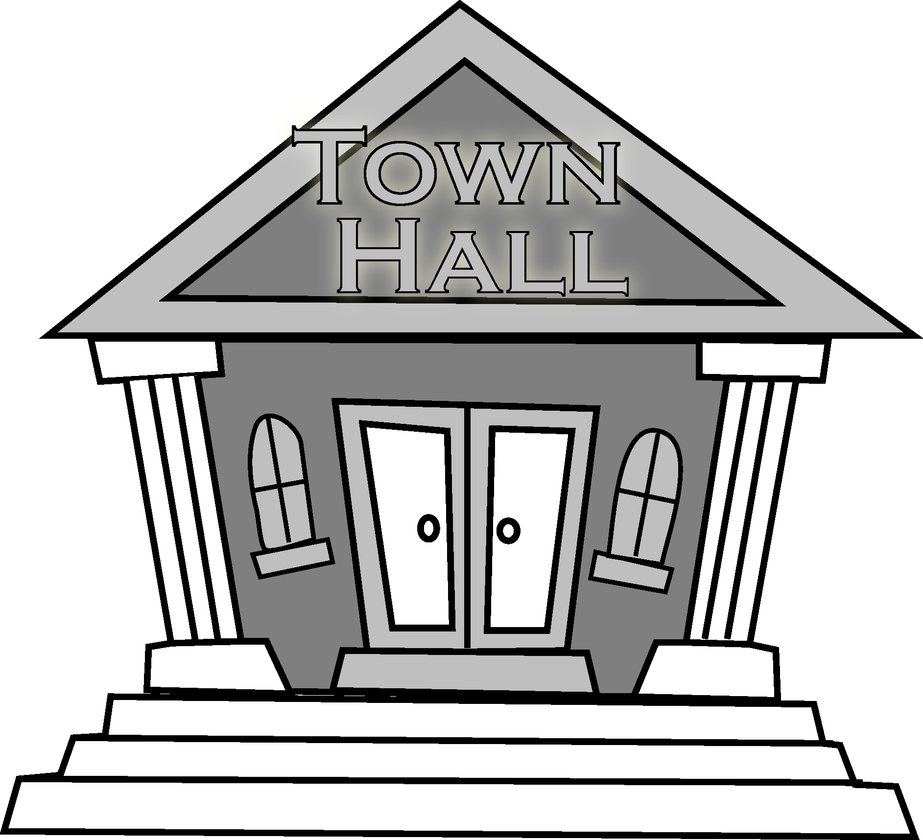 Town Hall Meeting.