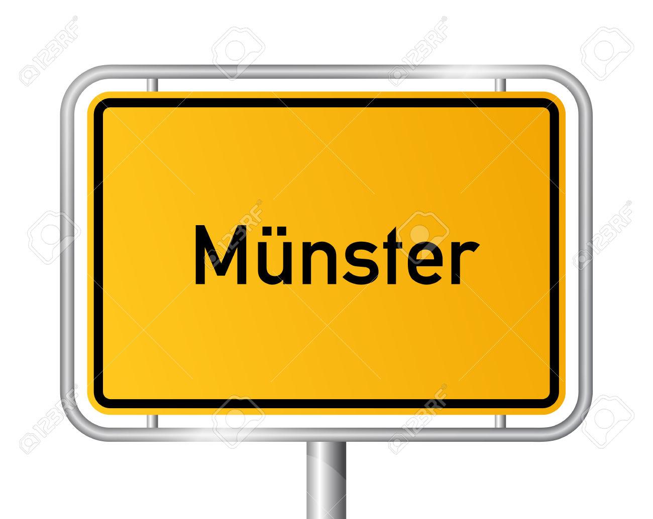 City Limit Sign Muenster.