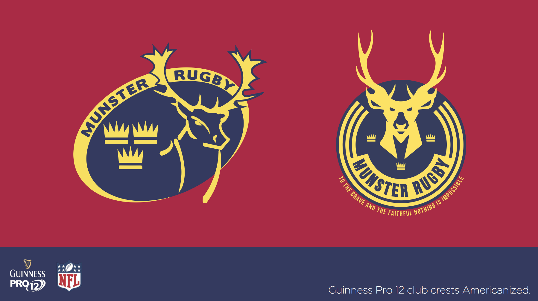 Someone redesigned every Guinness Pro 14 crest as NFL logos.