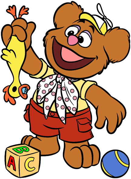 Disney Junior\'s Muppet Babies Clip Art.