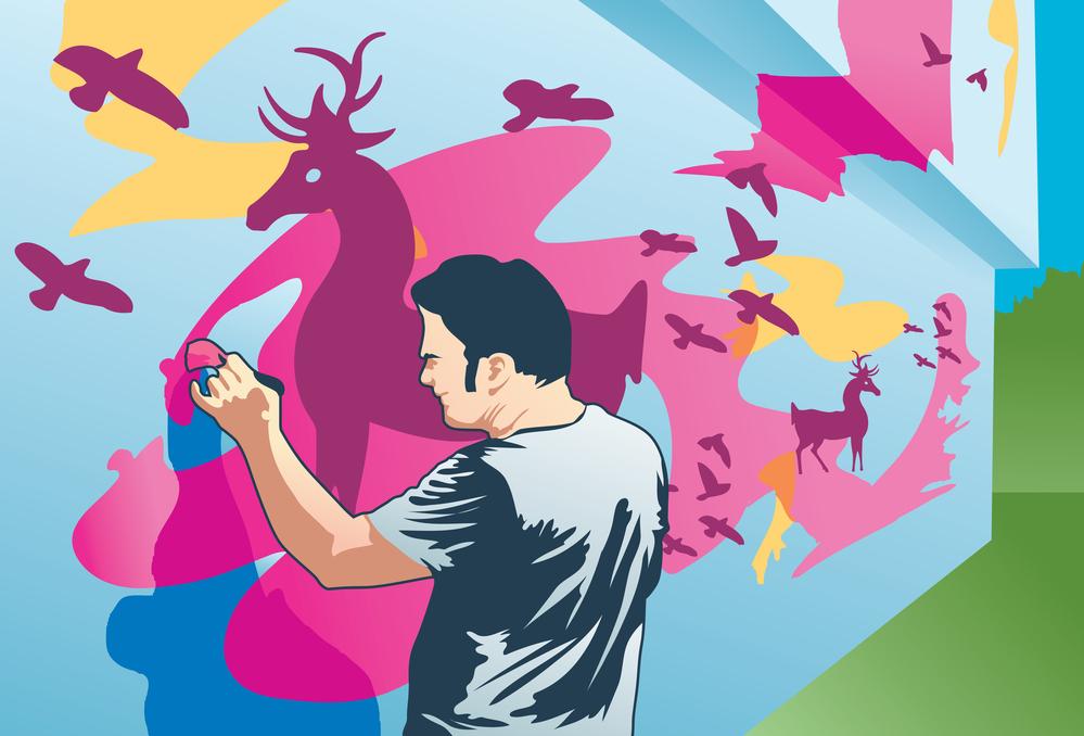 Mural Clipart.