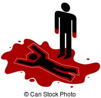 Murder clipart #13