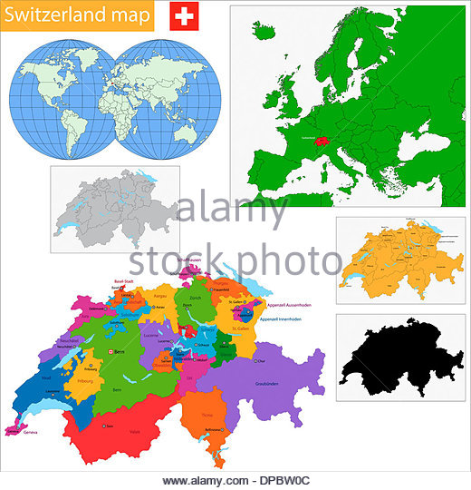 Map Zurich Stock Photos & Map Zurich Stock Images.
