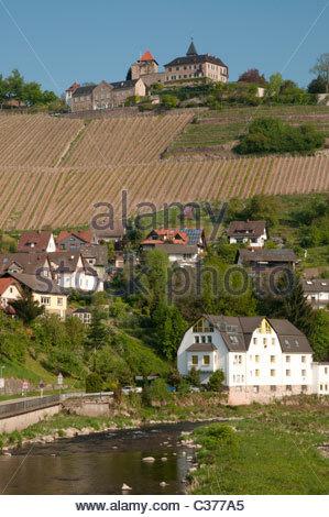 Gernsbach, Murgtal Valley, Black Forest, Baden Wurttemberg.