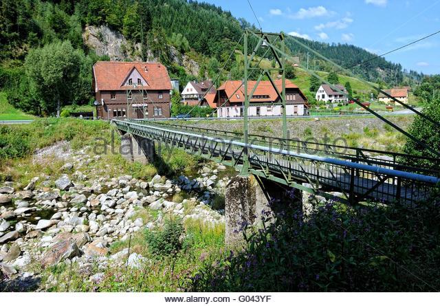 Black Forest Schwarzwald Germany Bridge Stock Photos & Black.