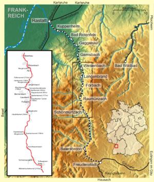 Murg Valley Railway.
