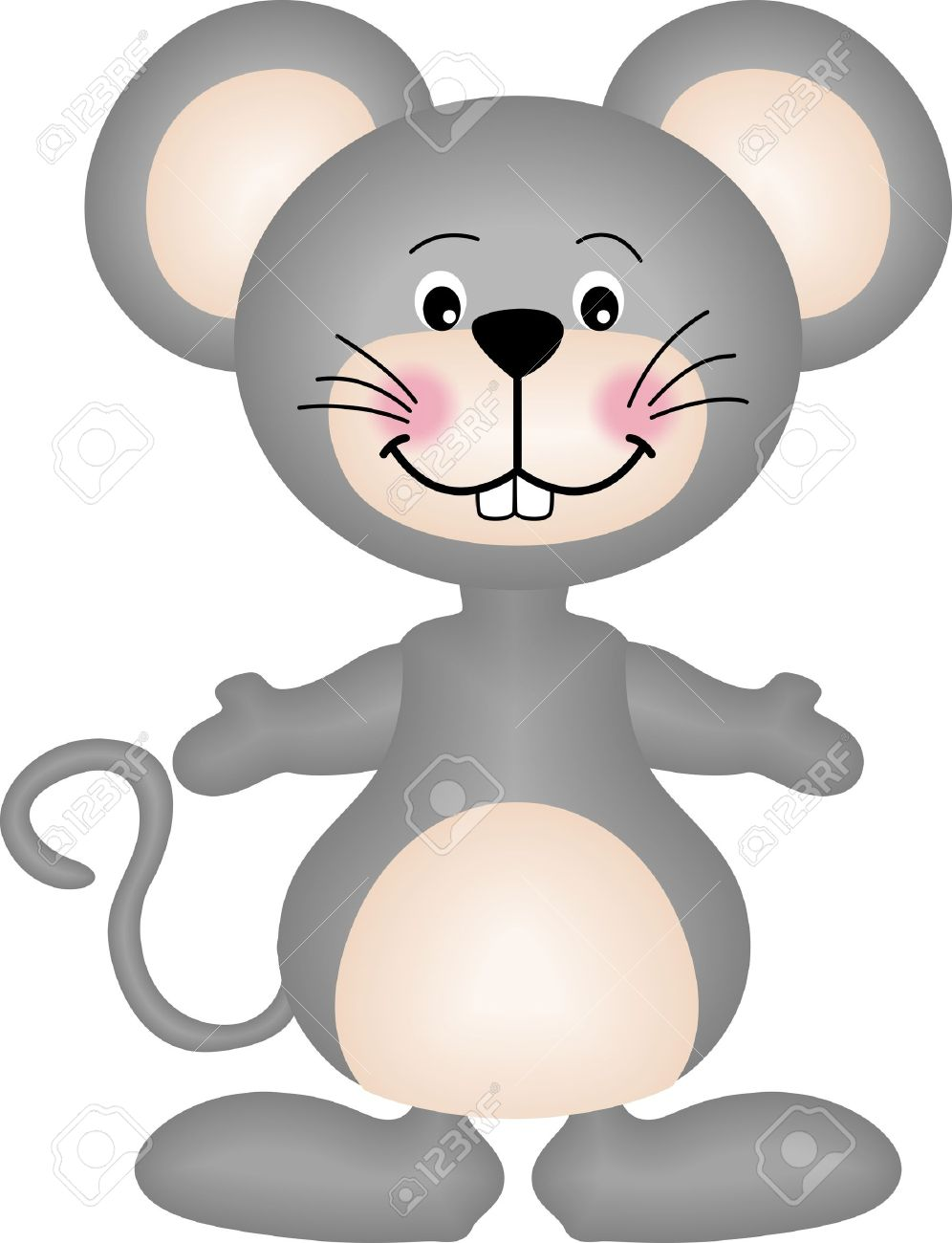 Gray Mouse Royalty Free Cliparts, Vectors, And Stock Illustration.
