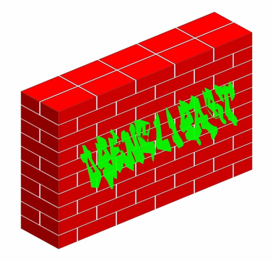 Graffiti Brick Wall Clipart.