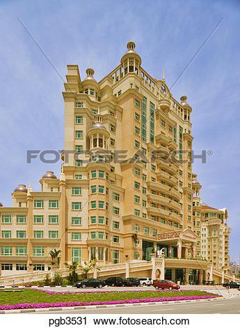 Stock Photography of Al Murooj Rotana Hotel. Dubai. United Arab.