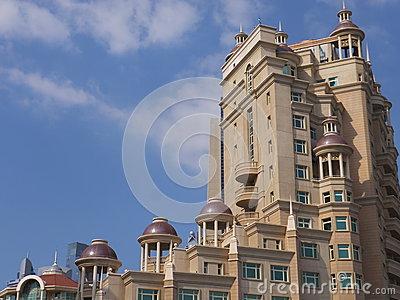 Al Murooj Rotana Hotel And Suites In Dubai, UAE Editorial Image.