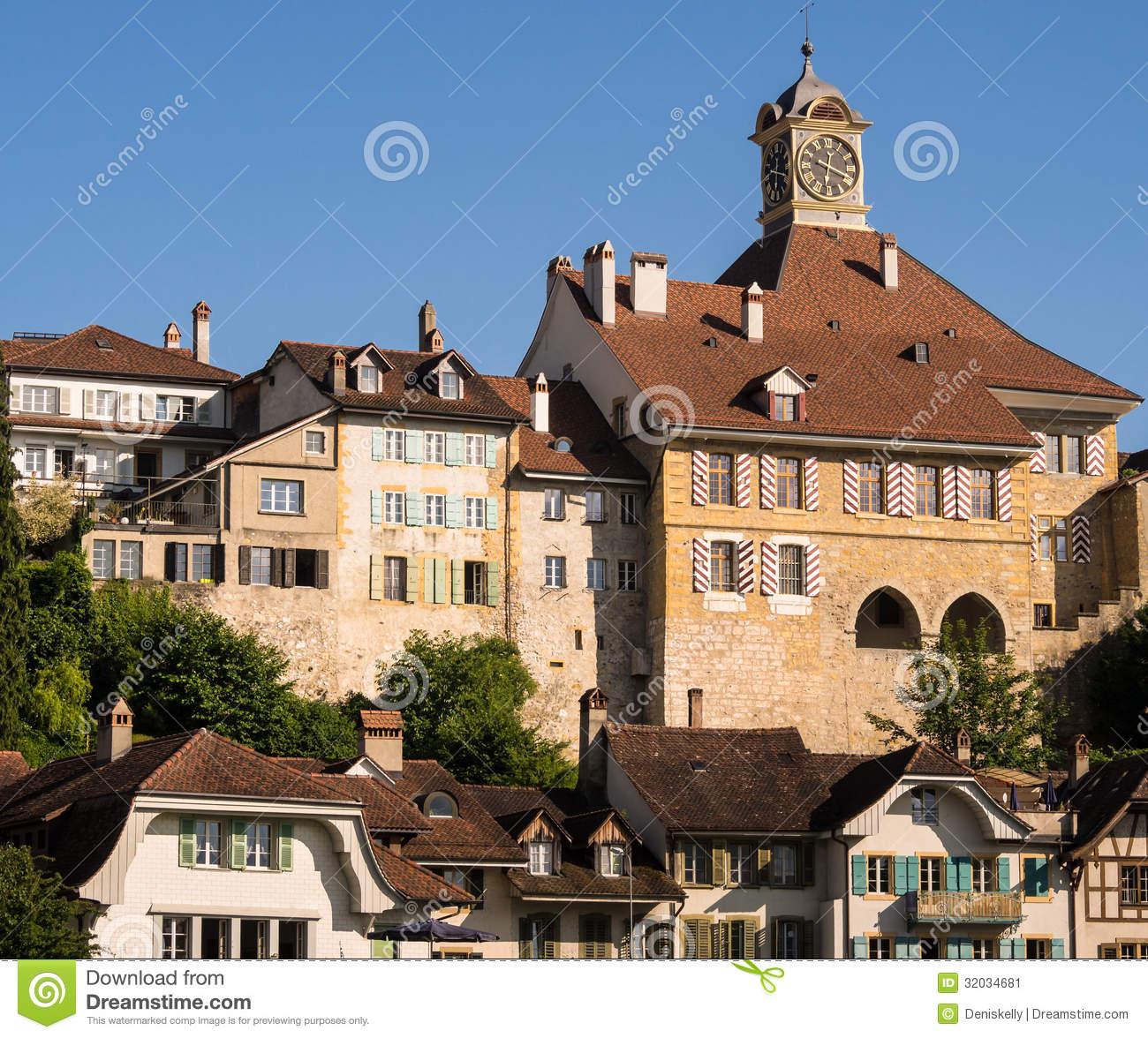 Murten, Switzerland Royalty Free Stock Photos.