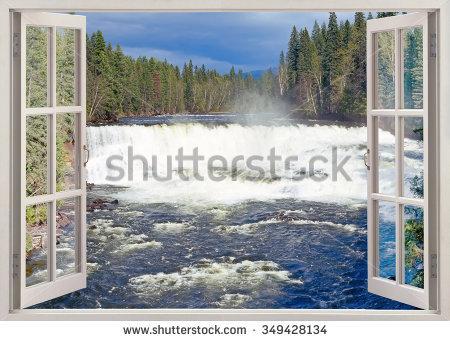Shannon Falls Near Squamish British Columbia Stock Photo 18774148.
