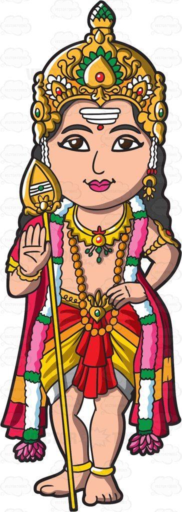 The Hindu God Murugan.