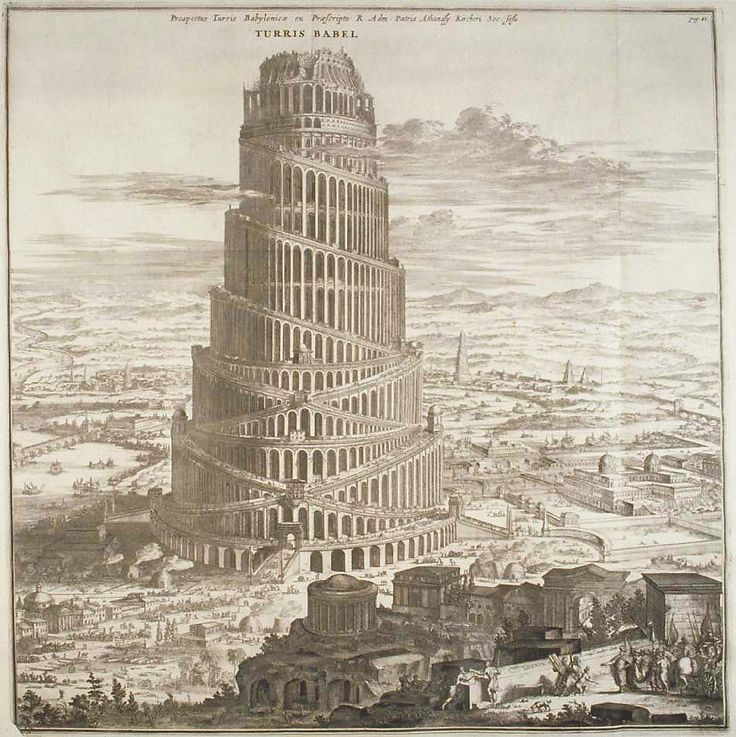 1000+ images about Tower of Babel on Pinterest.