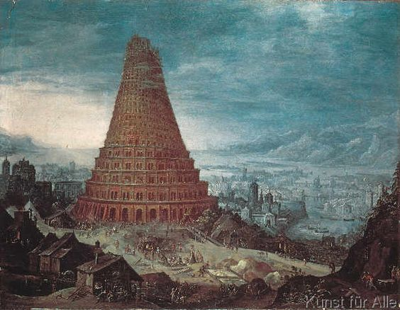 Tower of babel, The tower and Towers on Pinterest.