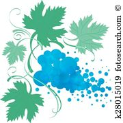 Muscadine Clipart and Illustration. 10 muscadine clip art vector.