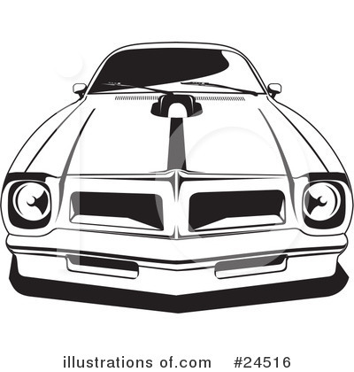 Nova Muscle Car Clipart.