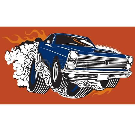 2,175 Muscle Car Stock Vector Illustration And Royalty Free Muscle.